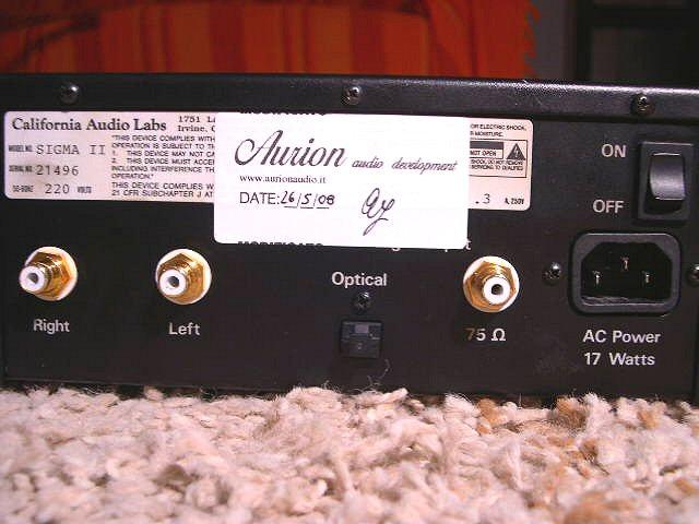 California Audio Labs SIGMA II 4