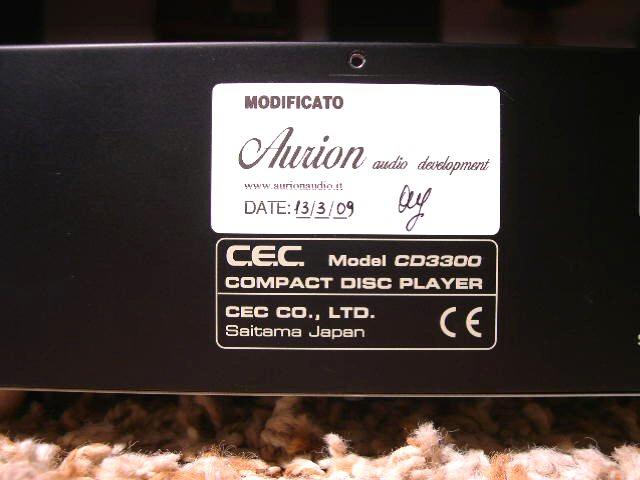 CEC CD-3300 4