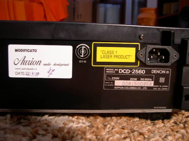 Denon DCD-2560 4