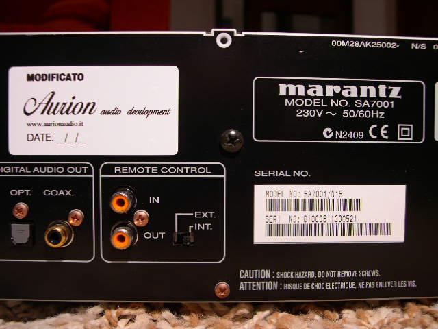 Marantz SA7001 4