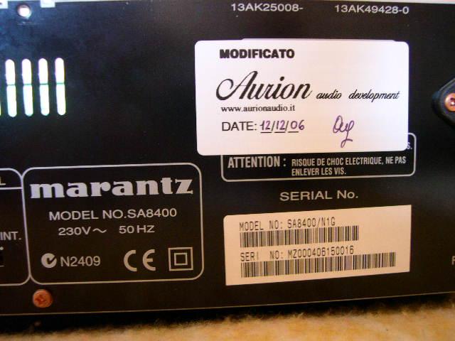 Marantz SA8400 5