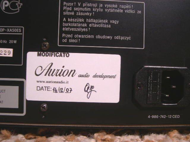 Sony XA50-ES 4