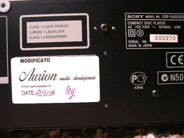 Sony XA555-ES 4