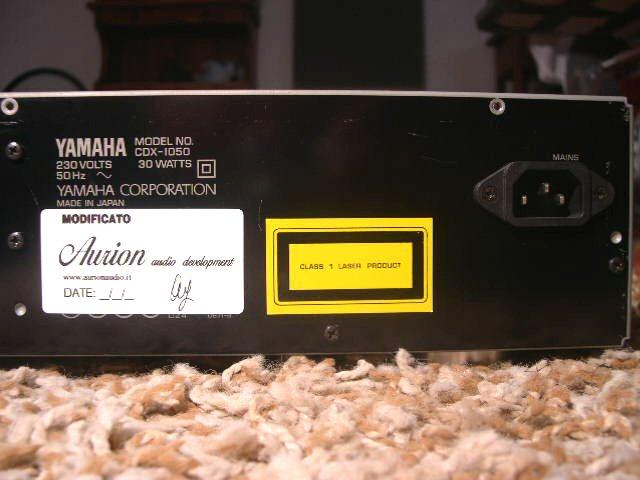Yamaha CDX-1050 4