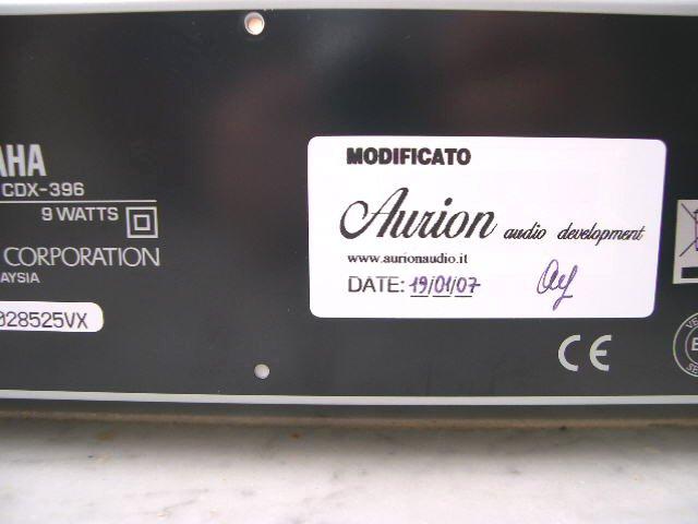 Yamaha CDX-396 4